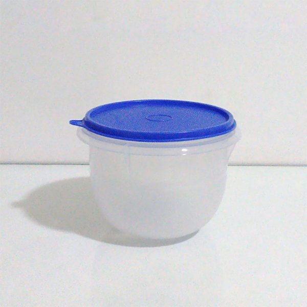Tupperware Tigela Batedeira Pequena 1 litro tampa Azul
