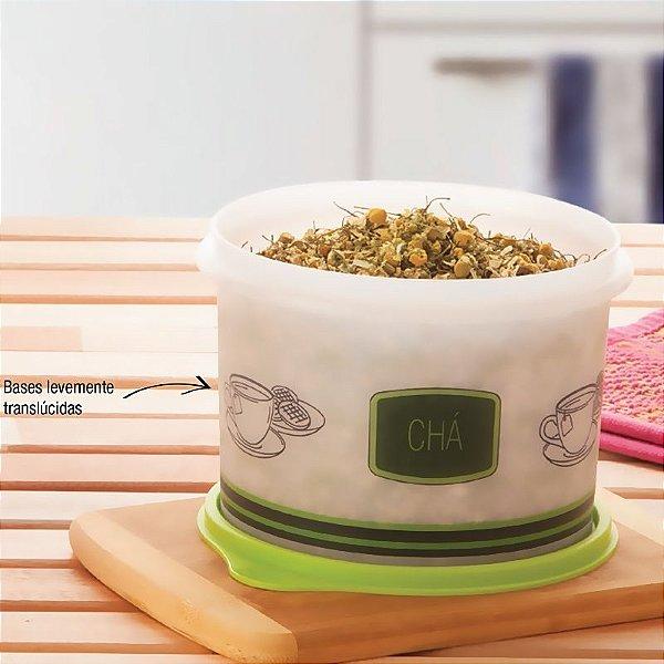 Tupperware Caixa para Chá 1,1 litro Verde