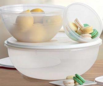 Tupperware Maravilhosa Saladeira 6,5 litros Branca