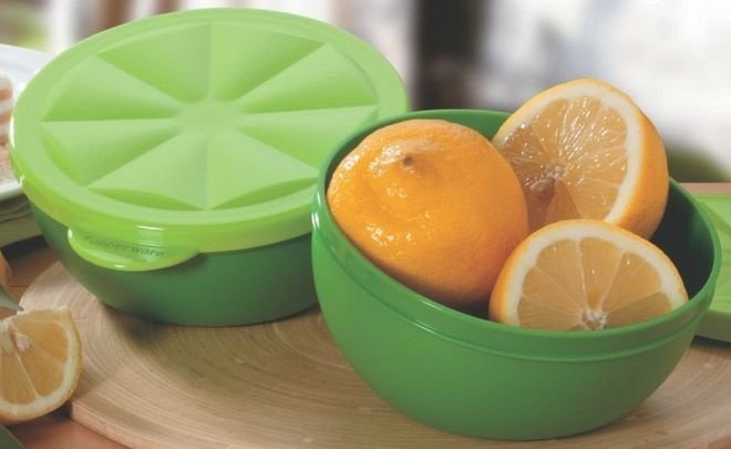 Tupperware Porta Limão 300ml Verde