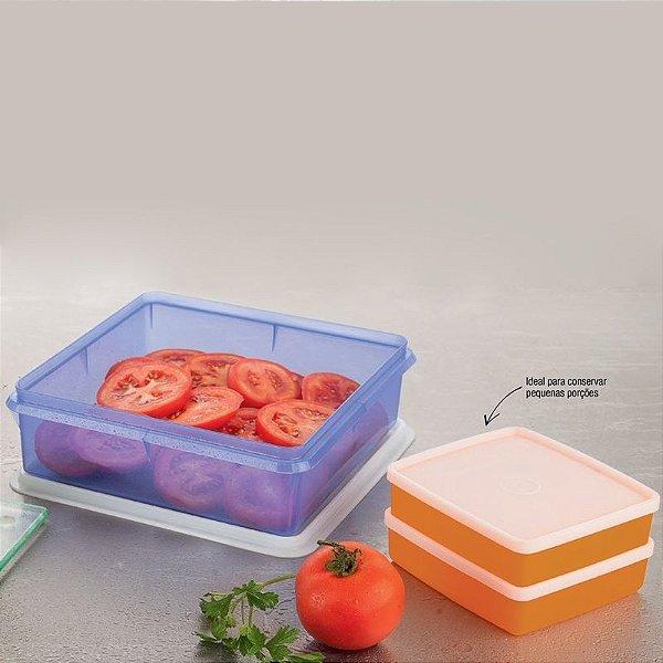 Tupperware Refri box e Caixa Versátil Kit 3 peças