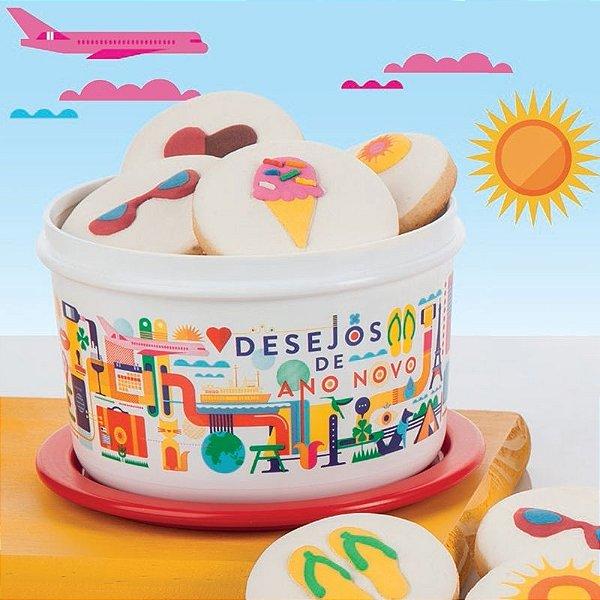 Tupperware Mini Instantânea Desejos De Ano Novo 575ml