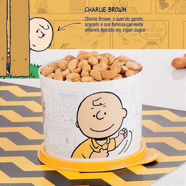 Tupperware Redondinha Charlie Brown 550ml Snoopy