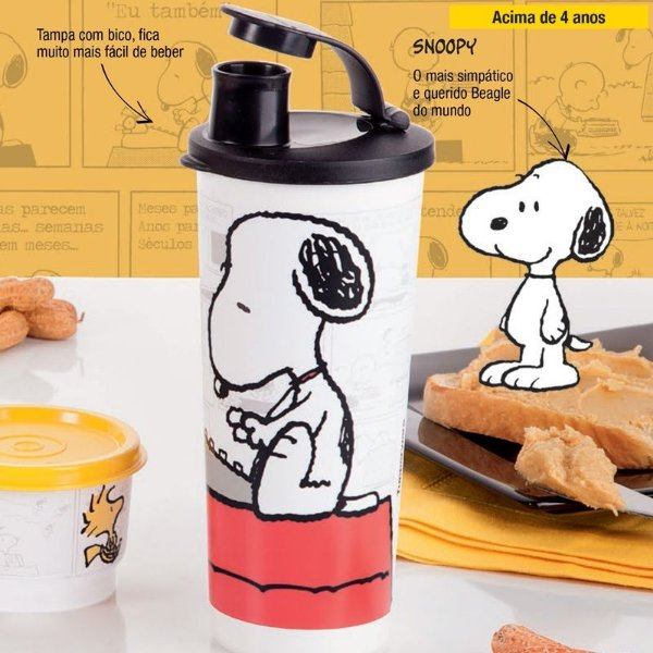 Tupperware Copo Snoopy 470 ml