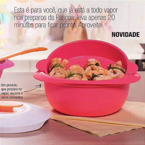 Tupperware Travessa Multifuncional Mágica 1,6 litros Rosa