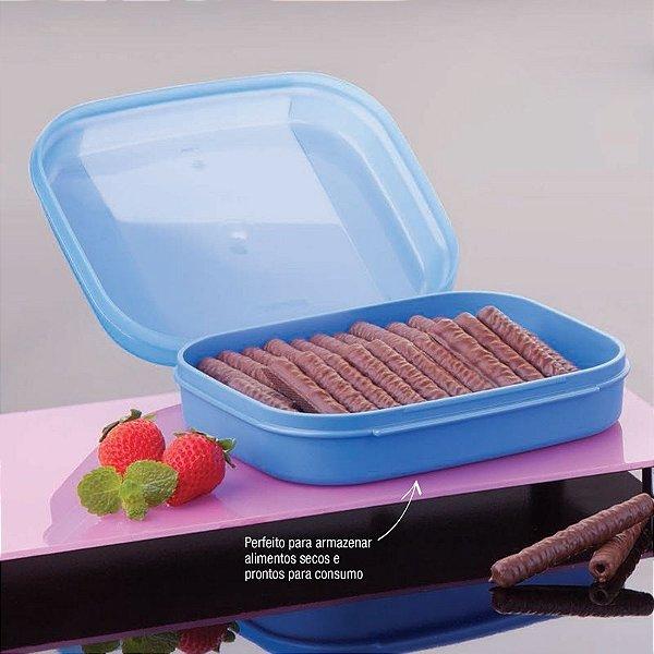 Tupperware Visual Box Mini 550 ml Azul