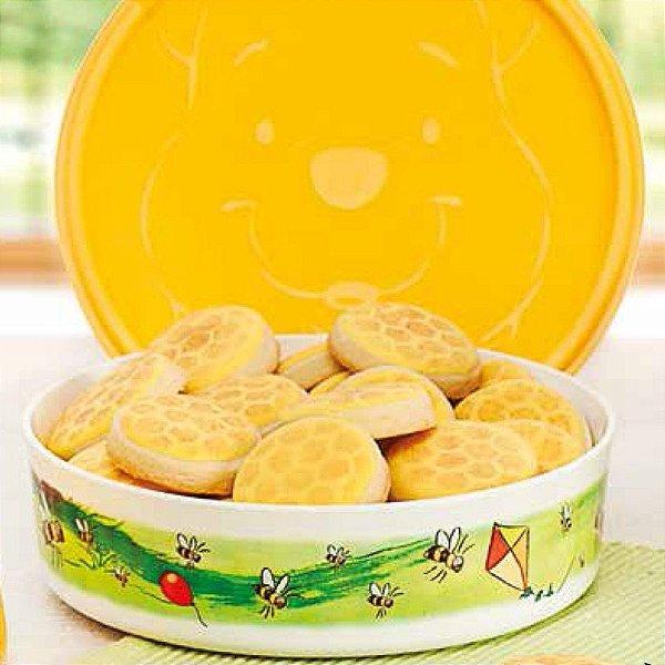 Tupperware Tupper Pratinho Pooh 500ml Amarelo