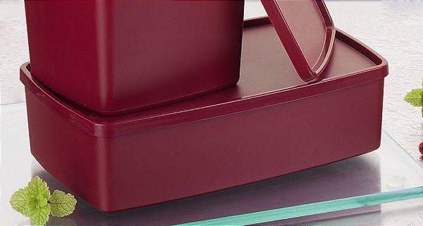 Tupperware Caixa Ideal Marsala 1,4 litro