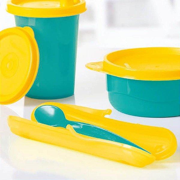 Tupperware Colher Infantil Azul