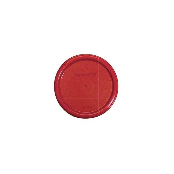 Tupperware Tampa Redonda Vermelha