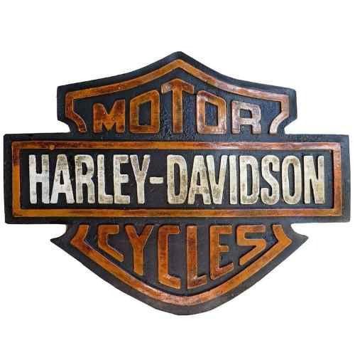 Quadro Emblema Harley Davidson