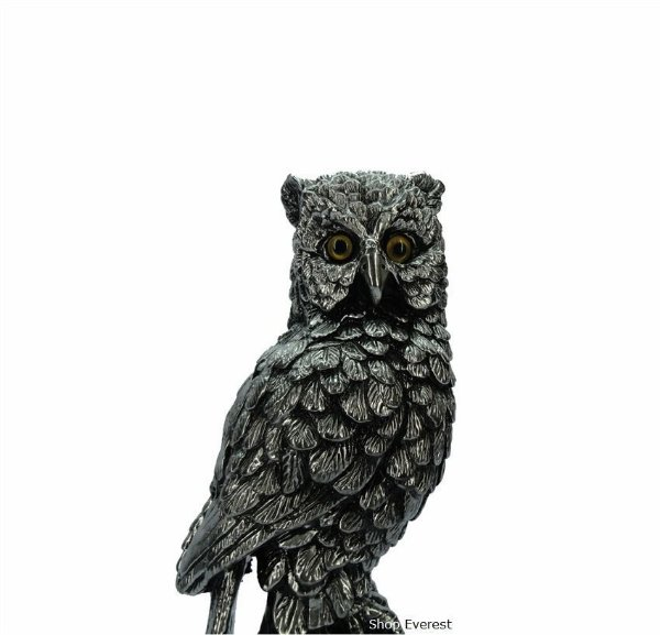Estatueta Coruja Decorativa - Simbolo de Sabedoria