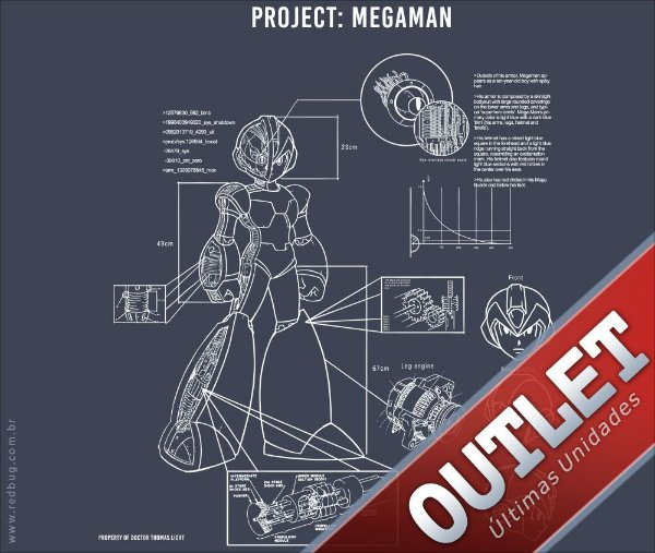 OUTLET - Project: Megaman - Feminino