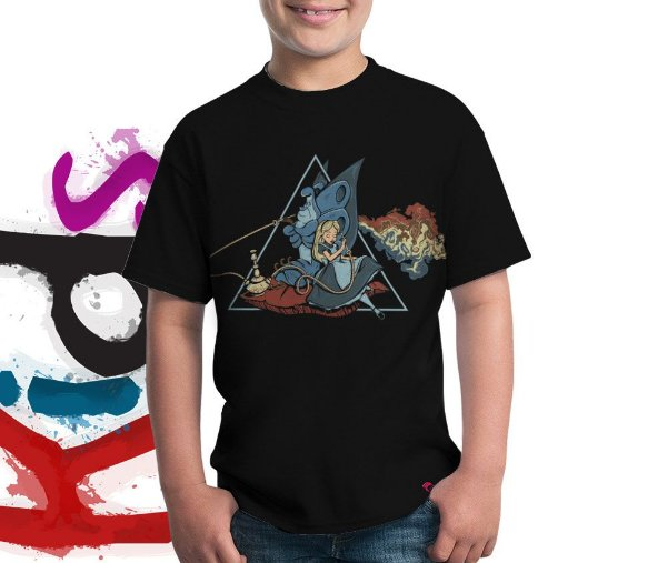 Camiseta Dark Side of Wonderland