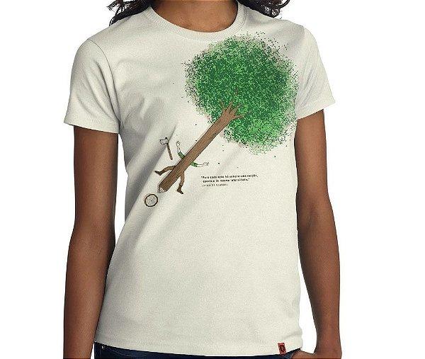 Camiseta Ação e Reação - Feminina