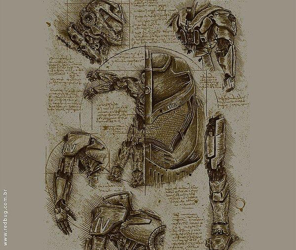 Camiseta Anatomia Jaeger - Feminina