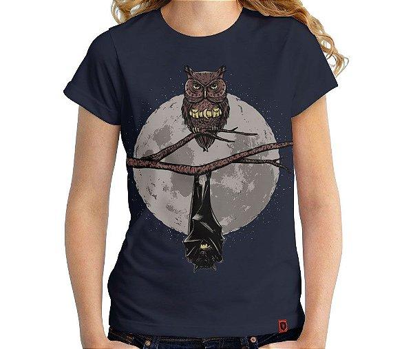 Camiseta Bat Owl - Feminina