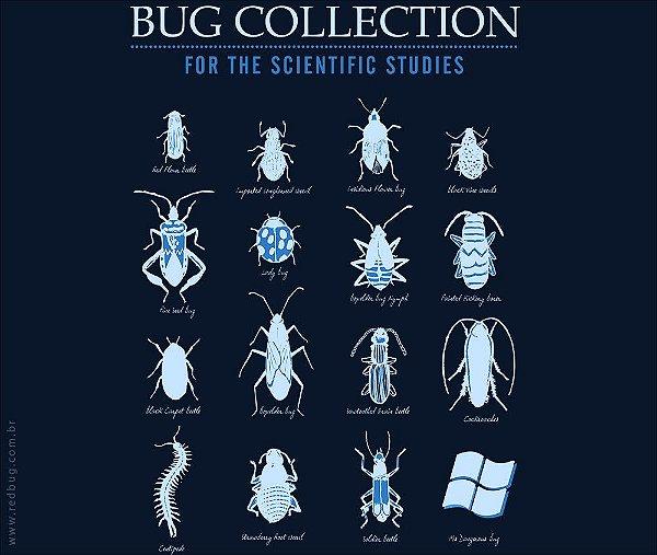 Camiseta Bugs - Feminina