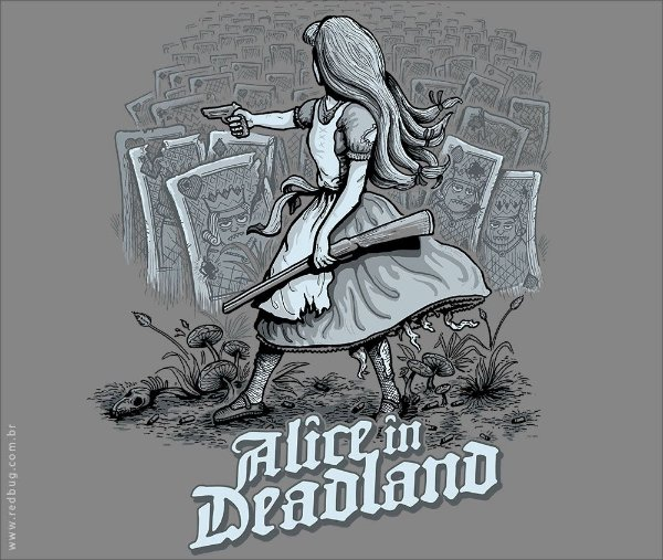 Camiseta Deadland - Feminina