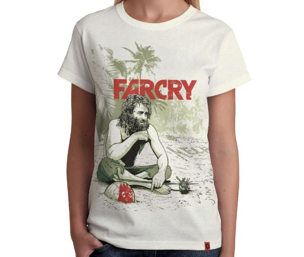 Camiseta Farcry - Feminina