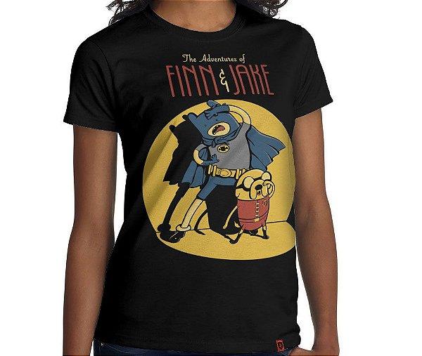 Camiseta Finn e Jake - Feminina
