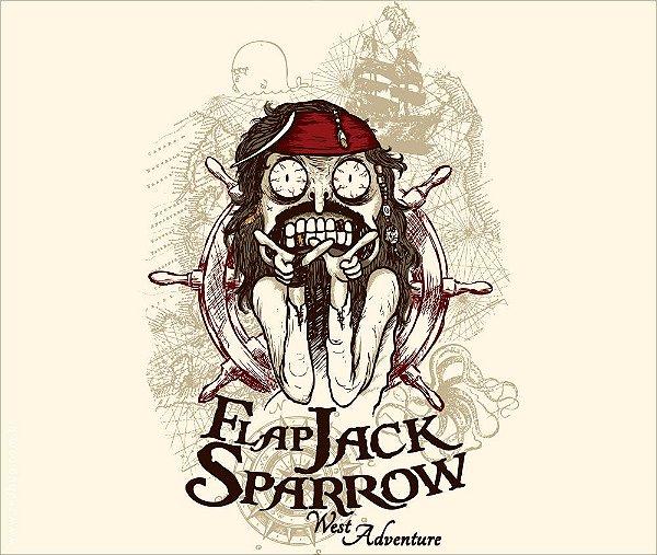 Camiseta Flap Jack Sparrow - Feminina