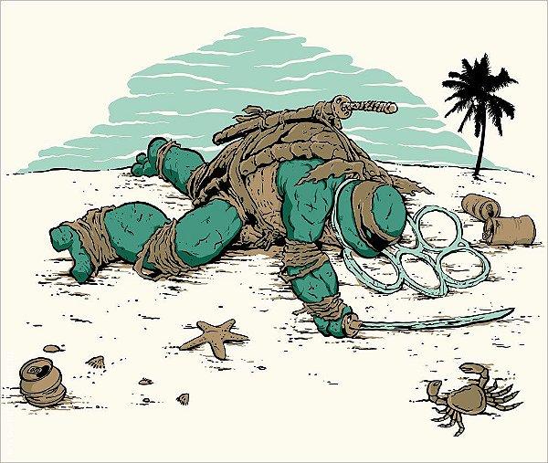 Camiseta Morre na Praia - Feminina