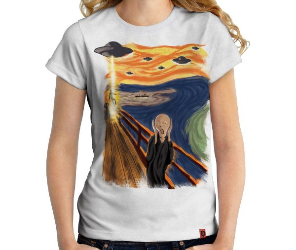 Camiseta O Grito - Feminina