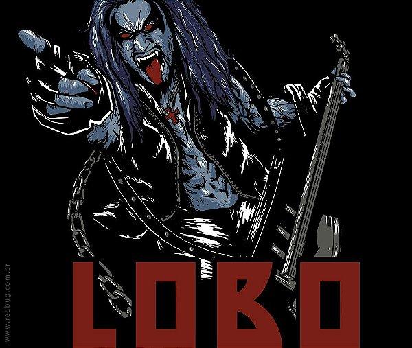 Camiseta O Lobo - Feminina