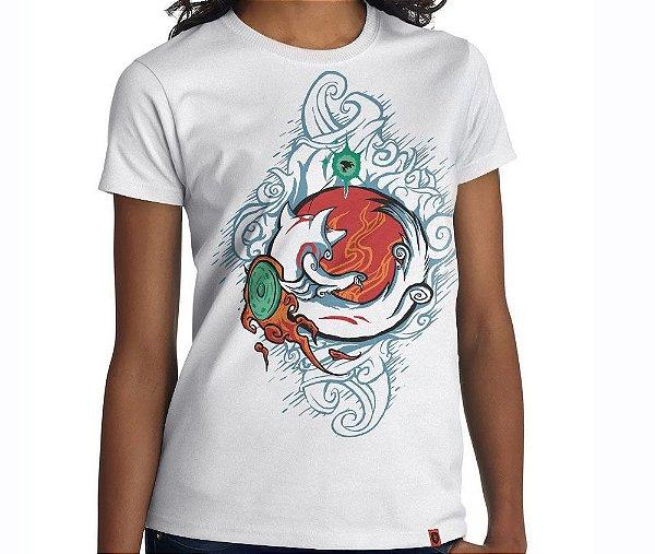 Camiseta Okami - Feminina