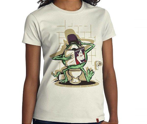 Camiseta Playmonster - Feminina