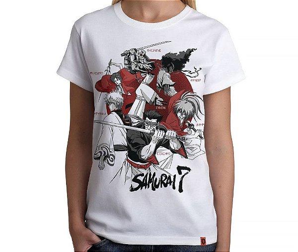 Camiseta Samurai 7 - Feminina