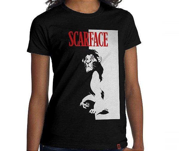 Camiseta Scarface - Feminina