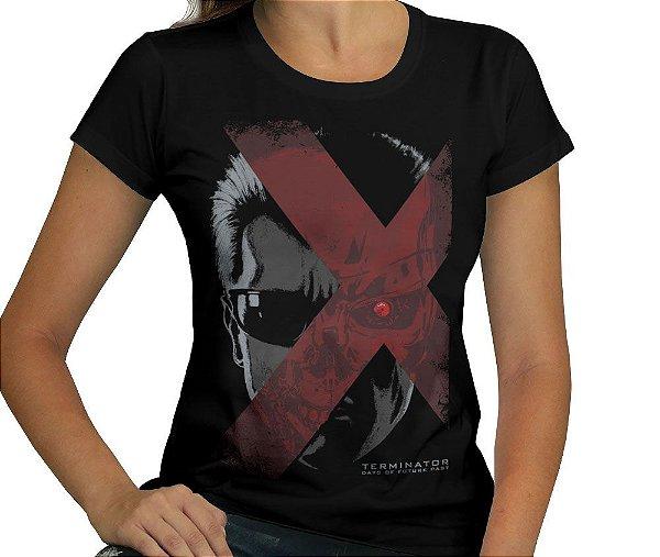 Camiseta Terminator - Feminina