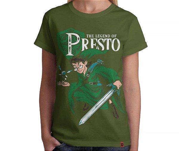 Camiseta The Legend of Presto - Feminina