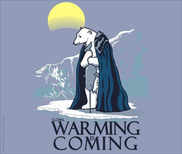 Camiseta Warming is Coming - Feminina