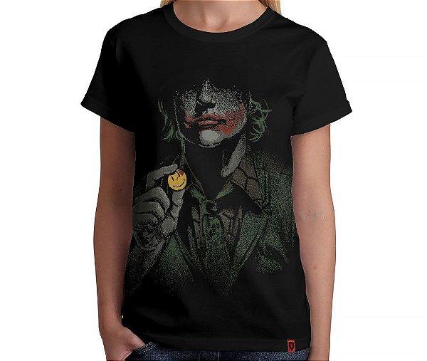 Camiseta Why So Serious - Feminina