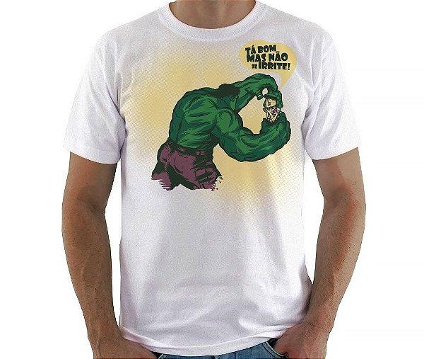 Camiseta Não se irrite - Masculina