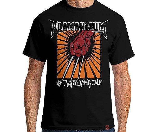 Camiseta Adamantium - Masculina