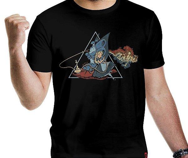 Camiseta Dark Side of Wonderland - Masculina