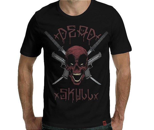 Camiseta Deadskull - Masculina