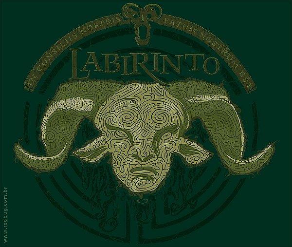 Camiseta Labirinto - Masculina
