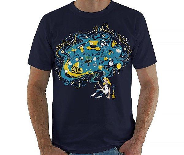 Camiseta País das Maravilhas - Masculina