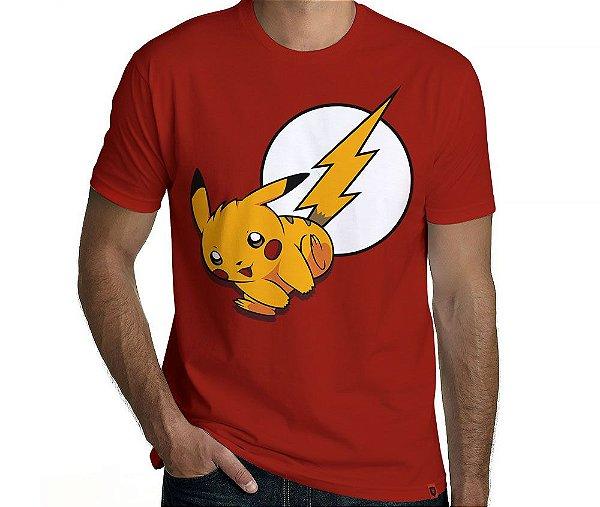 Camiseta Pikaflash - Masculina