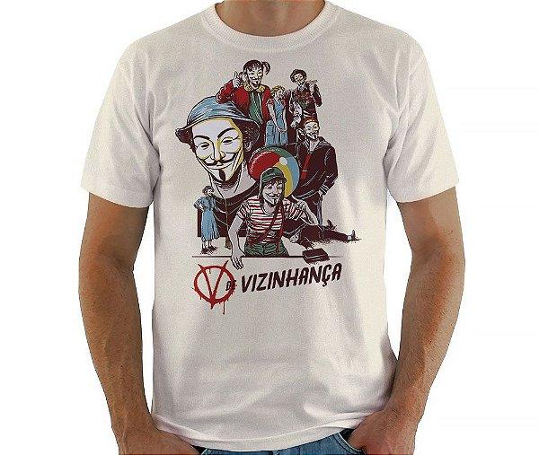 Camiseta V de Vizinhança - Masculina