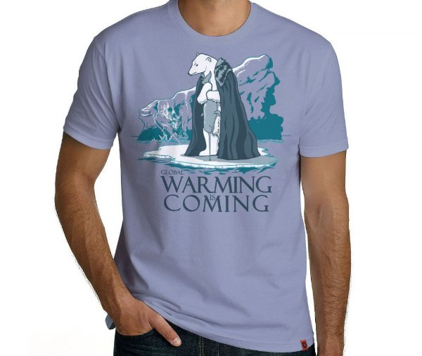 Camiseta Warming is Coming - Masculina