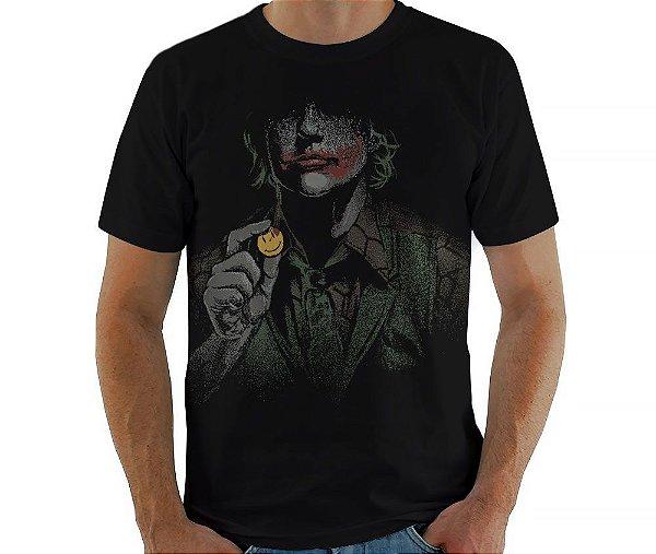 Camiseta Why So Serious - Masculina