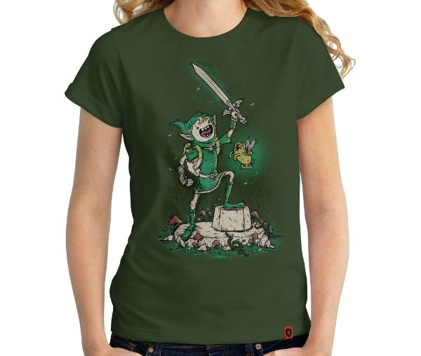 Camiseta Legend of Bubblegum - Feminina