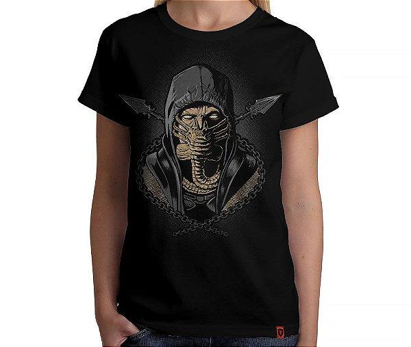 Camiseta Mortal Hug - Feminina