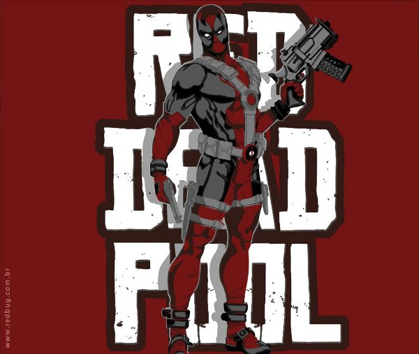 Camiseta Dead Redemption - Masculina